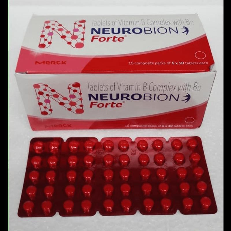 ニューロビンフォルテ 10錠 / Neurobion Forte 10 tablets