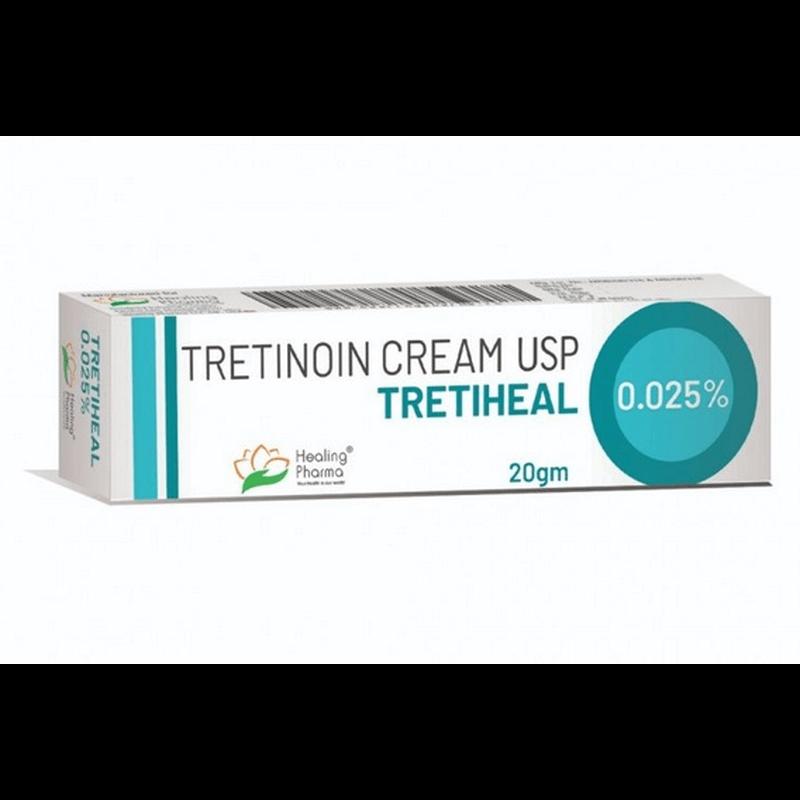 トレティヒール 0.025% / Tretiheal 0.025%