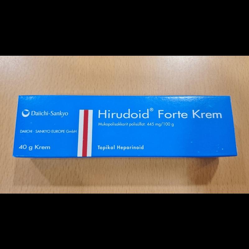 ヒルドイドフォルテクリーム / Hirudoid Forte Cream