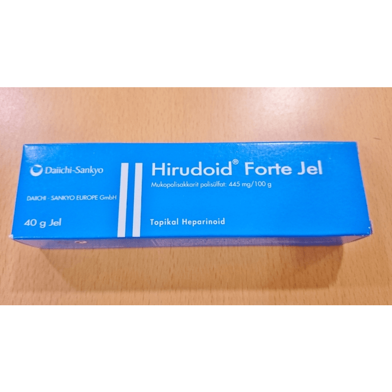 ヒルドイドフォルテジェル / Hirudoid Forte Gel